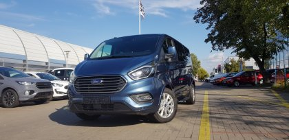 FORD Tourneo Custom 2.0 EcoBlue 130 KM, Manual 6, Titanium 2019R.